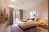 Wohnung Nordlicht Schlafzimmer mit Terasse